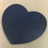 Black Heart Cake Pop Stand for 12 Cake Pops - Cake Pop Stand Co