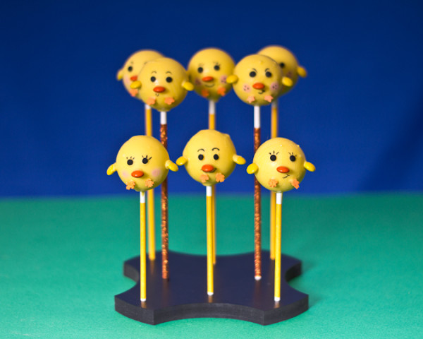 Scallop Cake Pop Stand for 8 Cake Pops