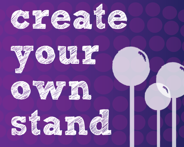 Create Your Own Cake Pop Stand