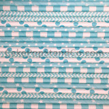 Light Blue Paper Straw Mix