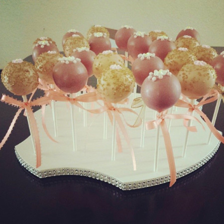 Cake Pops by Angelica Maciel in Bling Cake Pop Stand