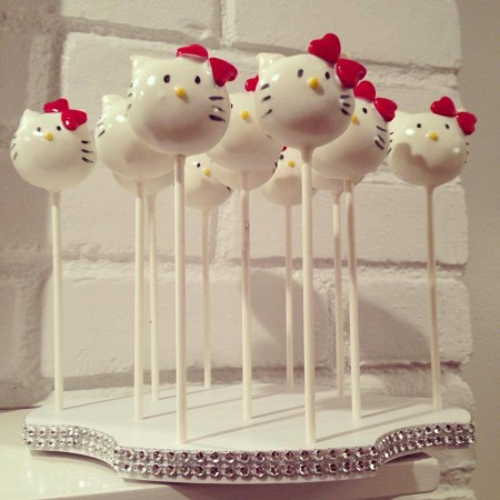 Cake pops by The New York Cake Popery