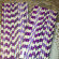 Paper Straws - Purple Stripes - CakePopStandCo.com