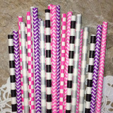 Rock Star Mix Paper Straws - Cake Pop Stand Co