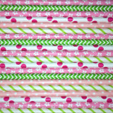 Spring Meadow Paper Straws Mix