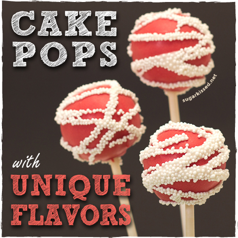 how to make cake pops with unique flavors. Black Bedroom Furniture Sets. Home Design Ideas
