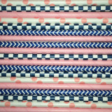 Navy Girl Paper Straws Mix
