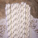 Gray Large Polka Dot Paper Straws