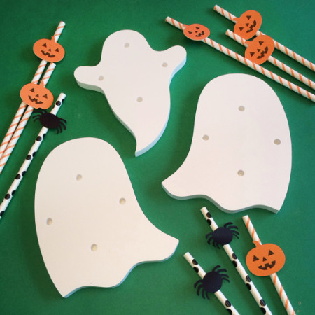 Halloween Ghost Cake Pop Stands