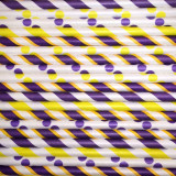 Lakers Paper Straw Mix