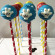 Cake Pops by Sweetly Coordinated Events on Paper Straws