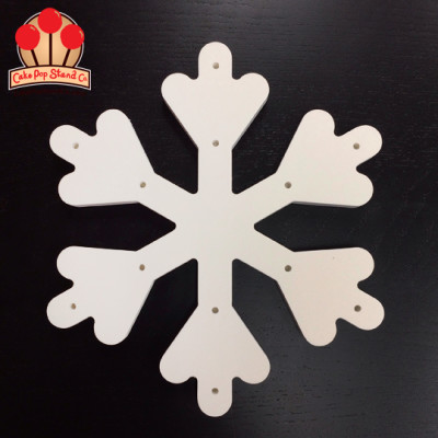 Snowflake Cake Pop Stand for 12 Pops