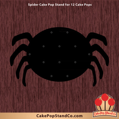 Spider Cake Pop Stand for 12 Pops