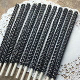 Black Bling Sticks