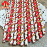 Gold Festive Stars Bling Paper Straws Mix