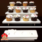 3-Tier Collapsible Premium Cupcake Stand for 12 Cupcakes