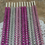 Pretty In Pink Mix Bling Sticks