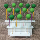 3-Tier Collapsible Cake Pop Stand for 12 Pops