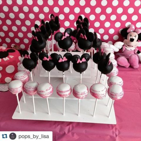 3 Tier Collapsible Cake Pop Stand For 50 Cake Pops