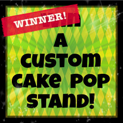 Cake Pop Contest Winner