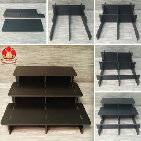 3 Tier Collapsible Stand For 12 Candy Les