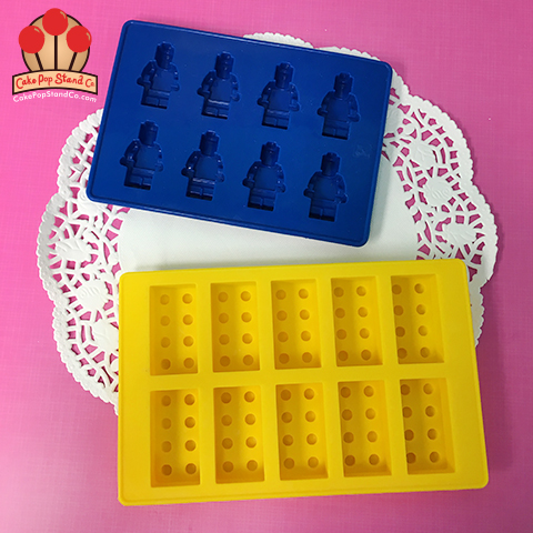 Lego Silicone Mold Chocolate Candy Fondant