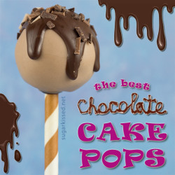 The Best Chocolate Cake Pops